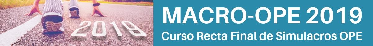 examen macro ope enfermeria 2019