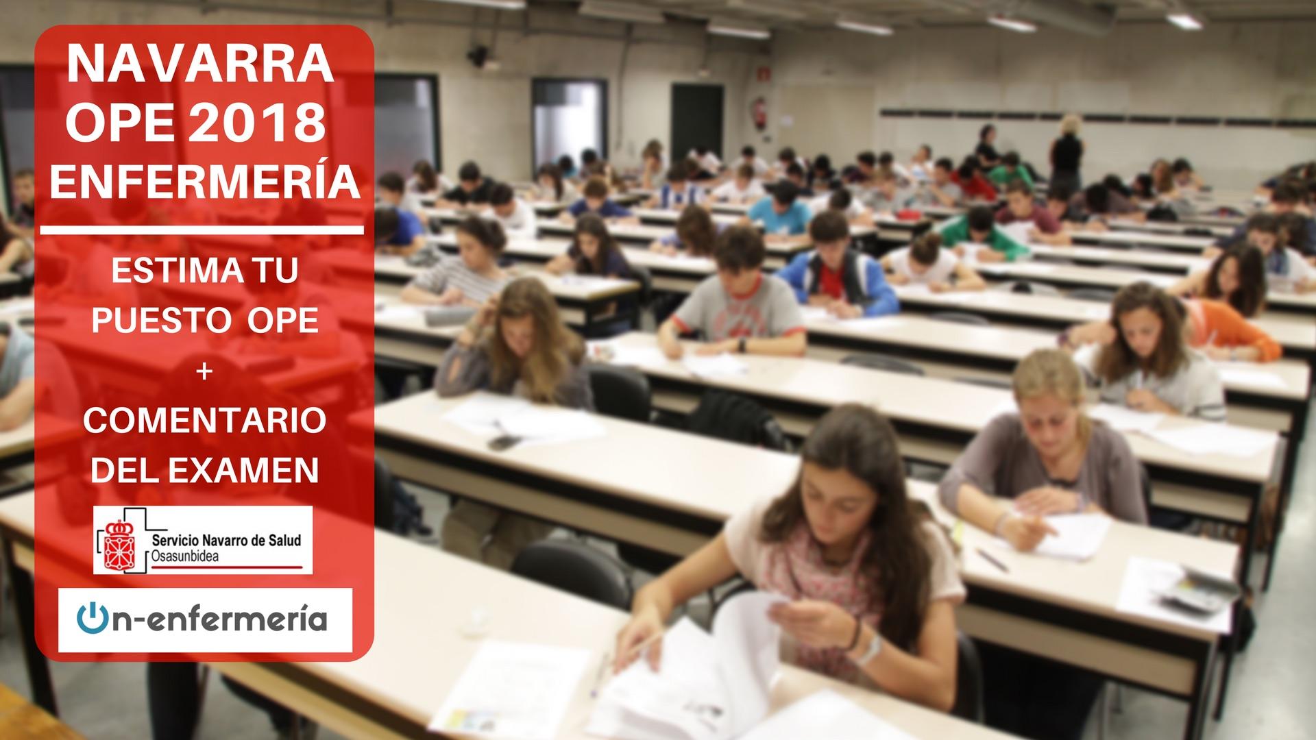 COMENTARIO DE EXAMEN OPE NAVARRA 2018 | On-enfermería / Activa tu ...