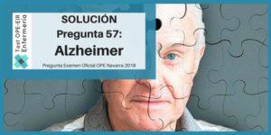 pregunta ope enfermeria alzheimer curso