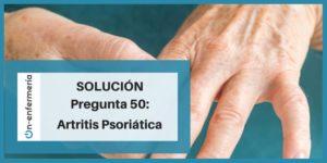 artritis pregunta enfermería