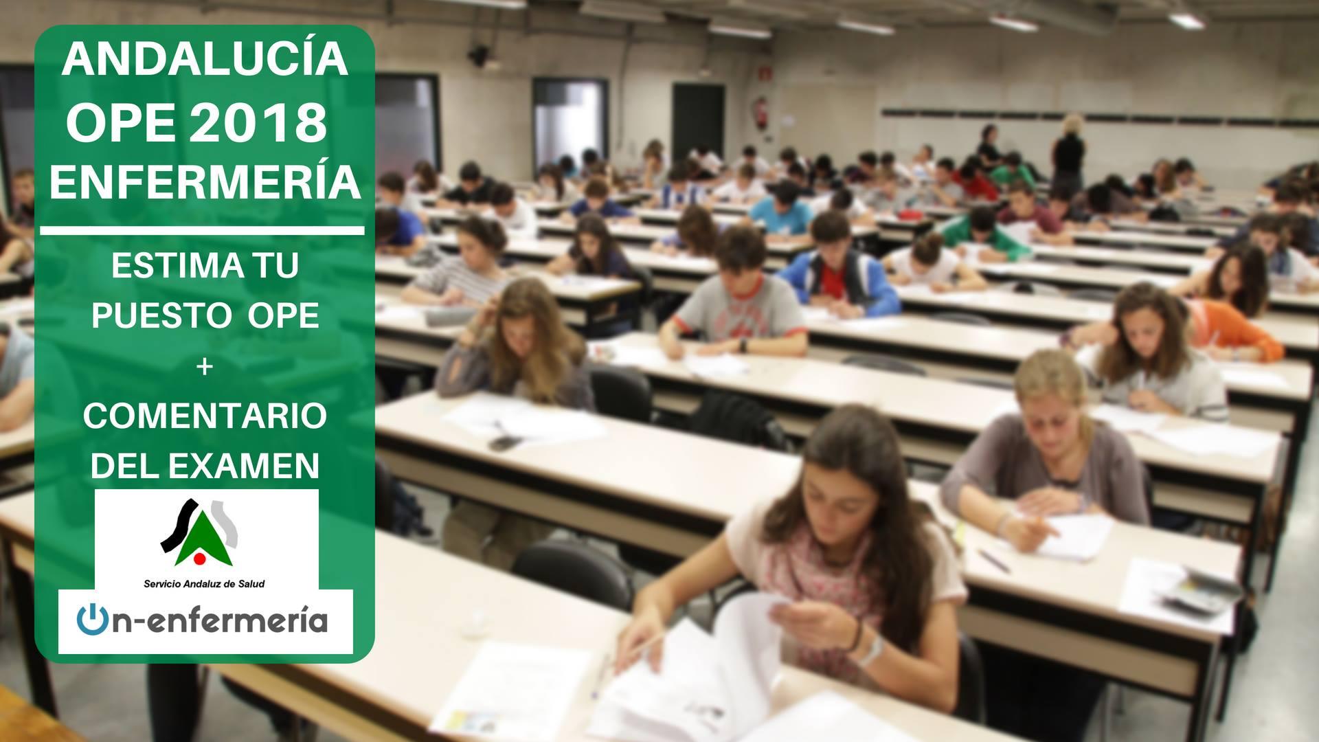 Comentario De Examen Ope Andalucía 2018 On Enfermería