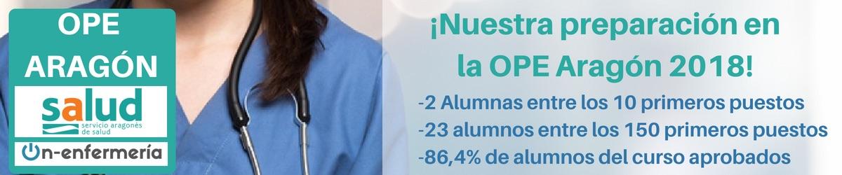 resultados ope aragon enfermeria 2018 NUEV