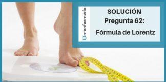formula lorentz ope enfermeria