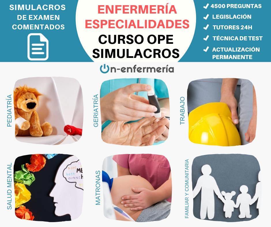 ESPECIALIDADES DE ENFERMERÍA