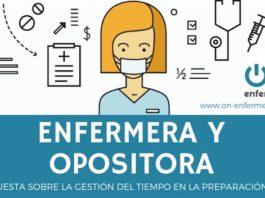 enfermera y opositora