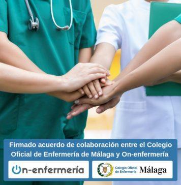 acuerdo colegio de enfermeria de malaga y on enfermeria