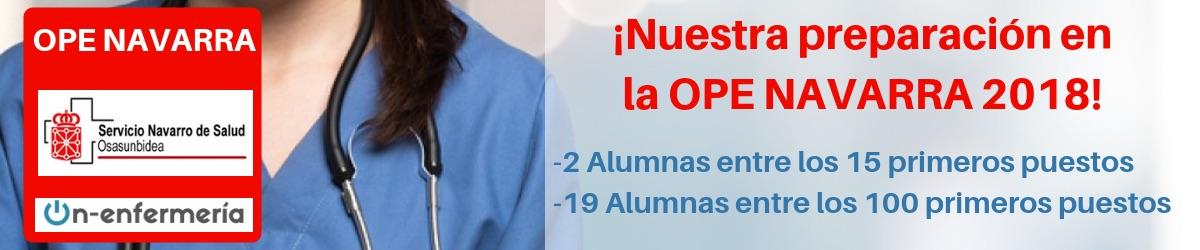 RESULTADOS OPOSICIONES OPE ENFERMERIA NAVARRA