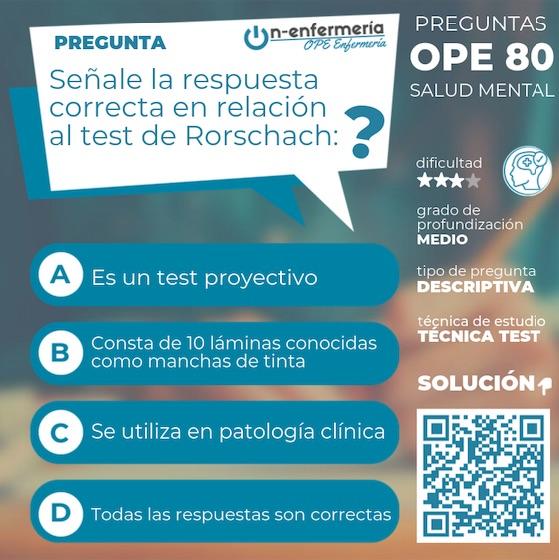 TEST OPOSICIONES DE ENFERMERIA 2020