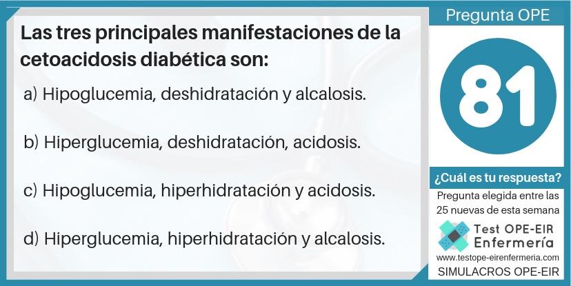 cetoacidosis ope enfermeria