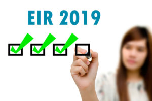 listas provisionales EIR 2019