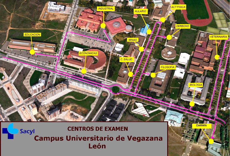 Centros OPE SACYL León