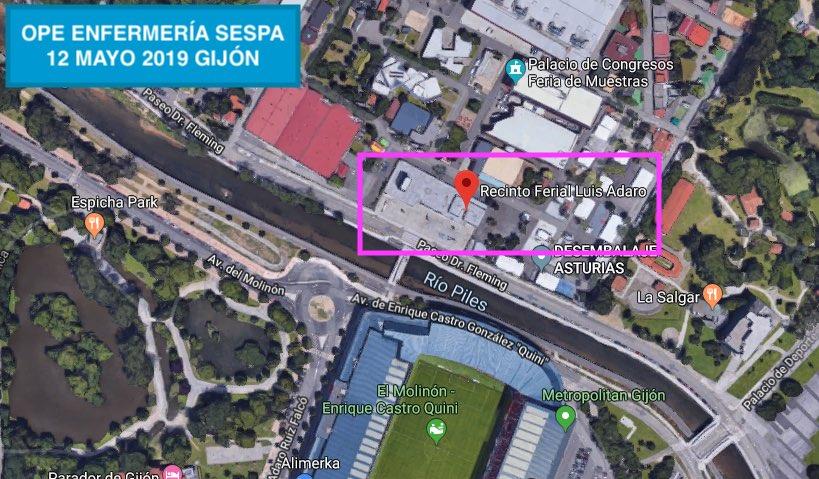 OPE ENFERMERIA SESPA 2019