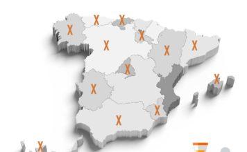 OPE COMUNIDADES MAPA ESPAÑA