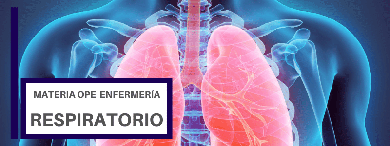 Temario OPE enfermería RESPIRATORIO