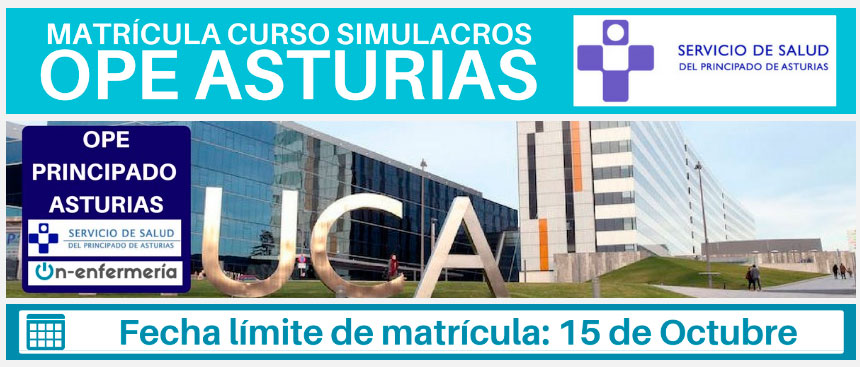 Curso OPE Enfermería Asturias