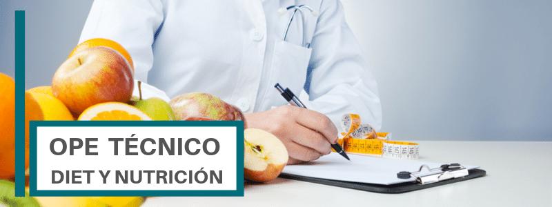 OPE TECNICO DIETETICA Y NUTRICION