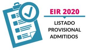 EIR 2020 simulacros enfermería