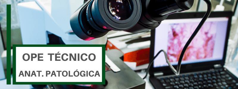 TEST OPE TECNICO ANATOMIA PATOLOGICA