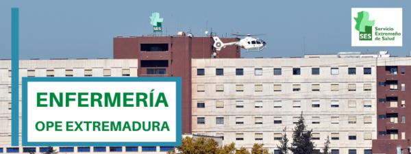 curso simulacros ope enfermeria extremadura