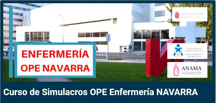 OPE ENFERMERÍA NAVARRA