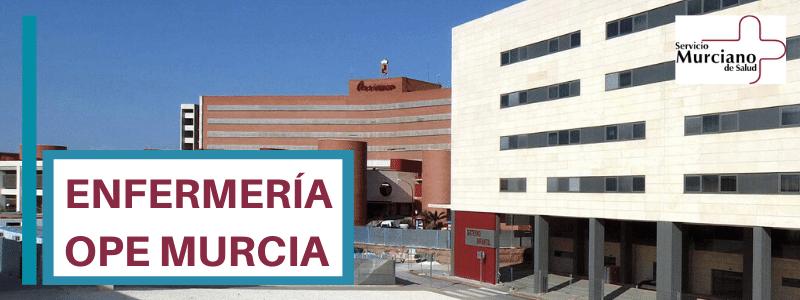 OPE ENFERMERIA MURCIA