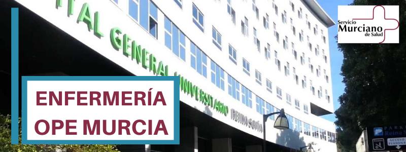 ope murcia 2019- simulacros enfermería