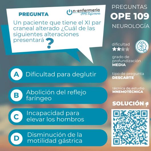 pregunta ope-neurología- onenfermeria