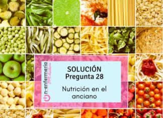 nutrición ancianos-ope enfermería-geriatría