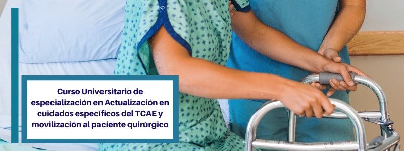 curso acreditado tcae paciente quirurgico