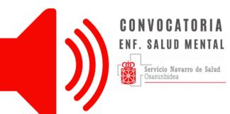CONVOCATORIA OPE ENFERMERIA SALUD MENTAL 2020 NAVARRA
