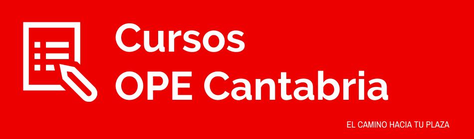 OPE ENFERMERIA CANTABRIA 2020