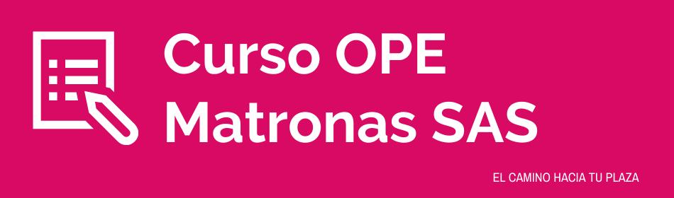 preparación ope matronas andalucia 2021