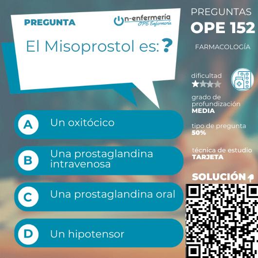 Misoprostol-farmacología-opeenfermería