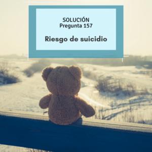 Riesgo de suicidio- OPE enfermería- Salud mental