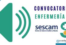 CONVOCATORIA OPE ENFERMERIA SESCAM