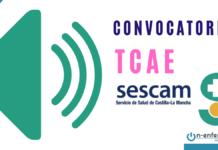 CONVOCATORIA OPE TCAE SESCAM 2017 2018