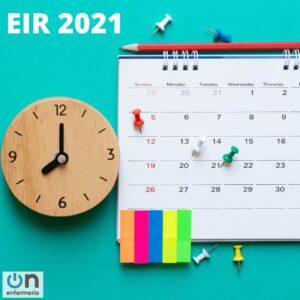 FECHA EXAMEN EIR 2021