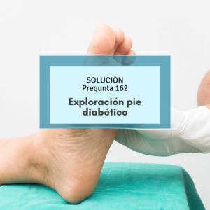 prueba monofilamento- simulacros enfermería- exploracion pie paciente diabético
