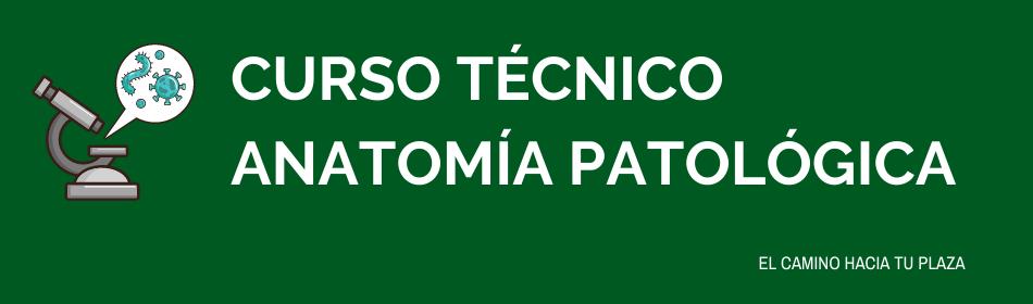 curso técnico anatomía patológica