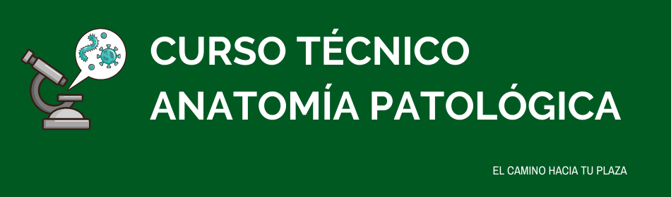 curso ope técnico anatomía patológica
