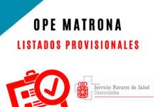 ope matrona navarra listados provisionales