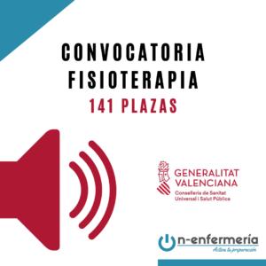 Convocatoria OPE Fisioterapia Comunidad Valenciana