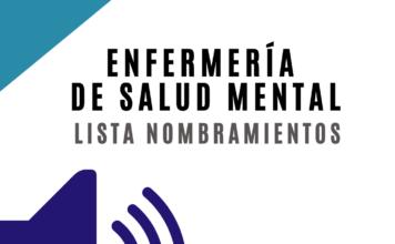 alt=Nombramiento Enfermería de Salud Mental Osakidetza