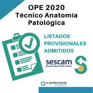 OPE 2020 Anatomía Patológica SESCAM