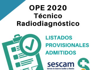 OPE Técnico Radiodiagnóstico SESCAM