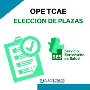 elección plaza ope tcae extremadura