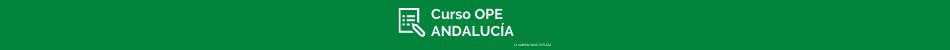 CURSOS OPE ANDALUCÍA
