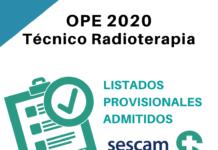 OPE Técnico Radioterapia