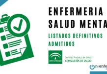 OPE Andalucía Salud Mental LISTAS DEFINITIVAS