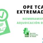 ope tcae extremadura